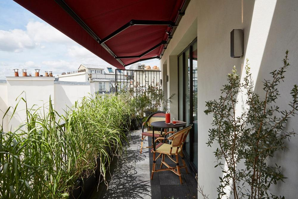 Le Roch Hotel & Spa - Terrasse privative