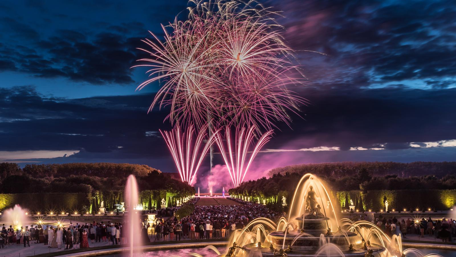 The Versailles magic of the Musical Fountains Shows