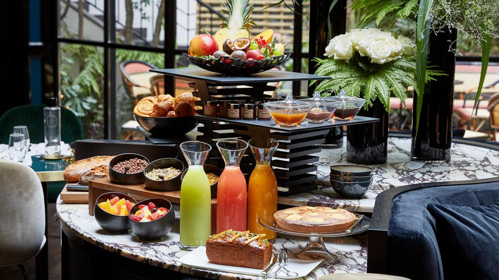 Easter brunch in the heart of Paris