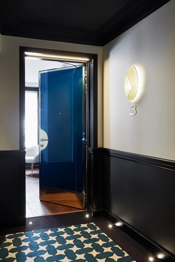 Le Roch Hotel & Spa Paris - Gallery - hotel corridor