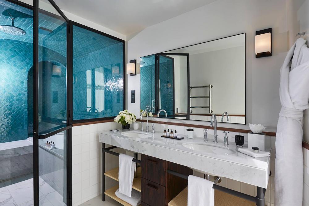 Le Roch Hotel & Spa - Suite bien-être avec hammam - Salle de bain
