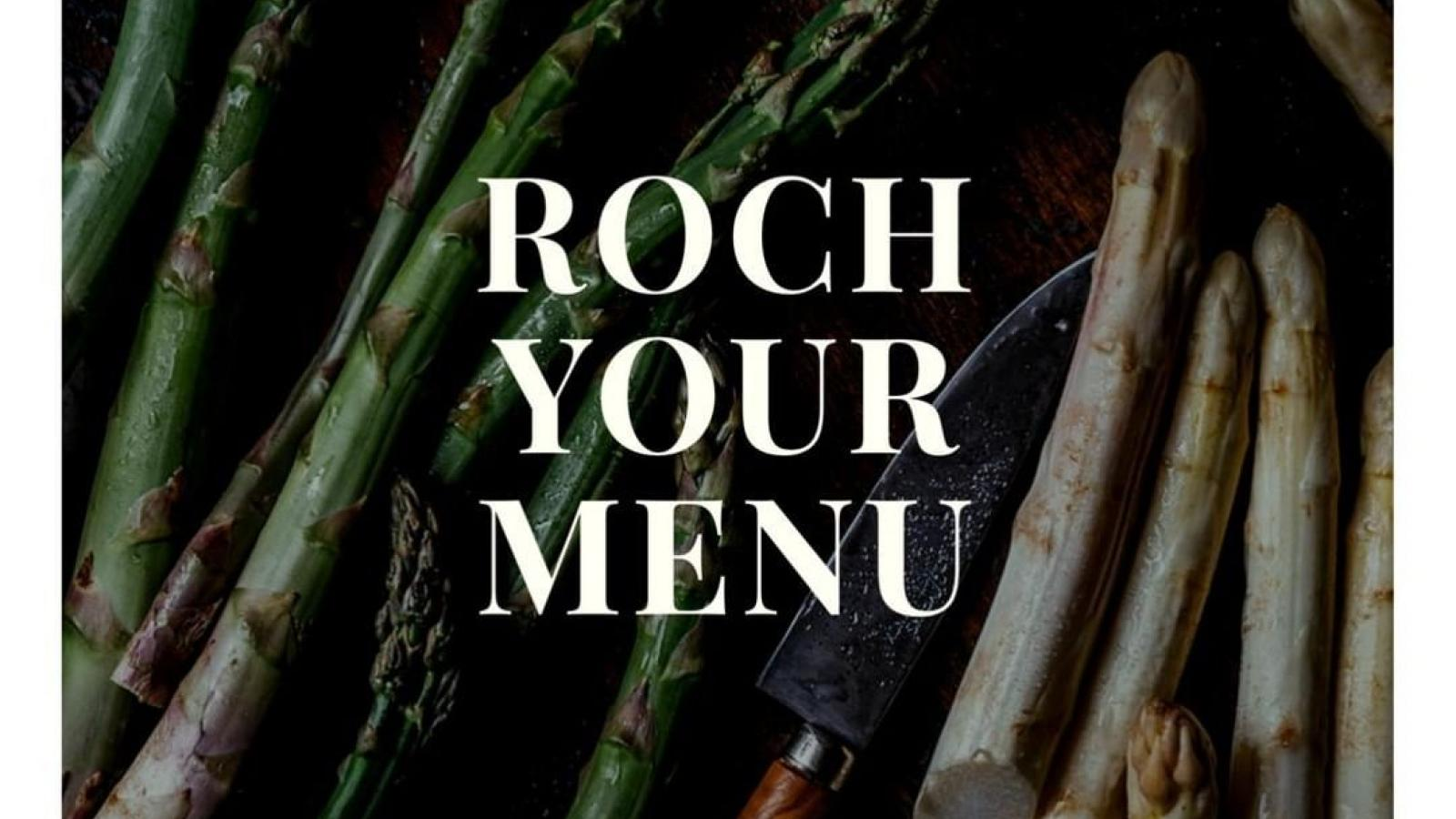 Roch your menu!
