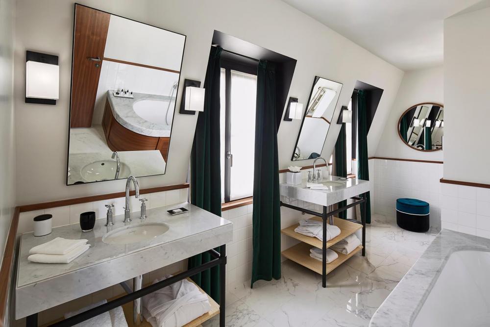 Le Roch Hotel & Spa - Suite Saint-Roch vasques en marbre