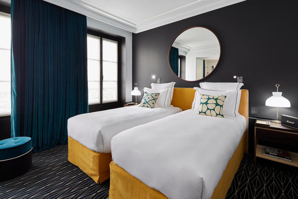Le Roch Hotel & Spa - Suite bien-être avec hammam lits jumeaux