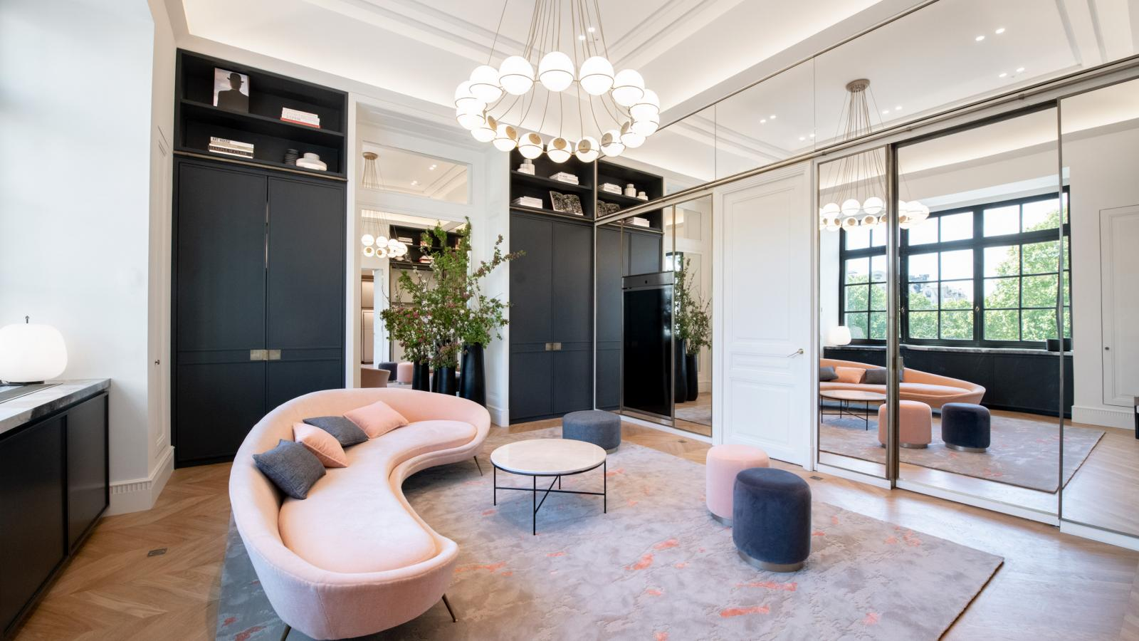 The luxury of the Bon Marché private salons