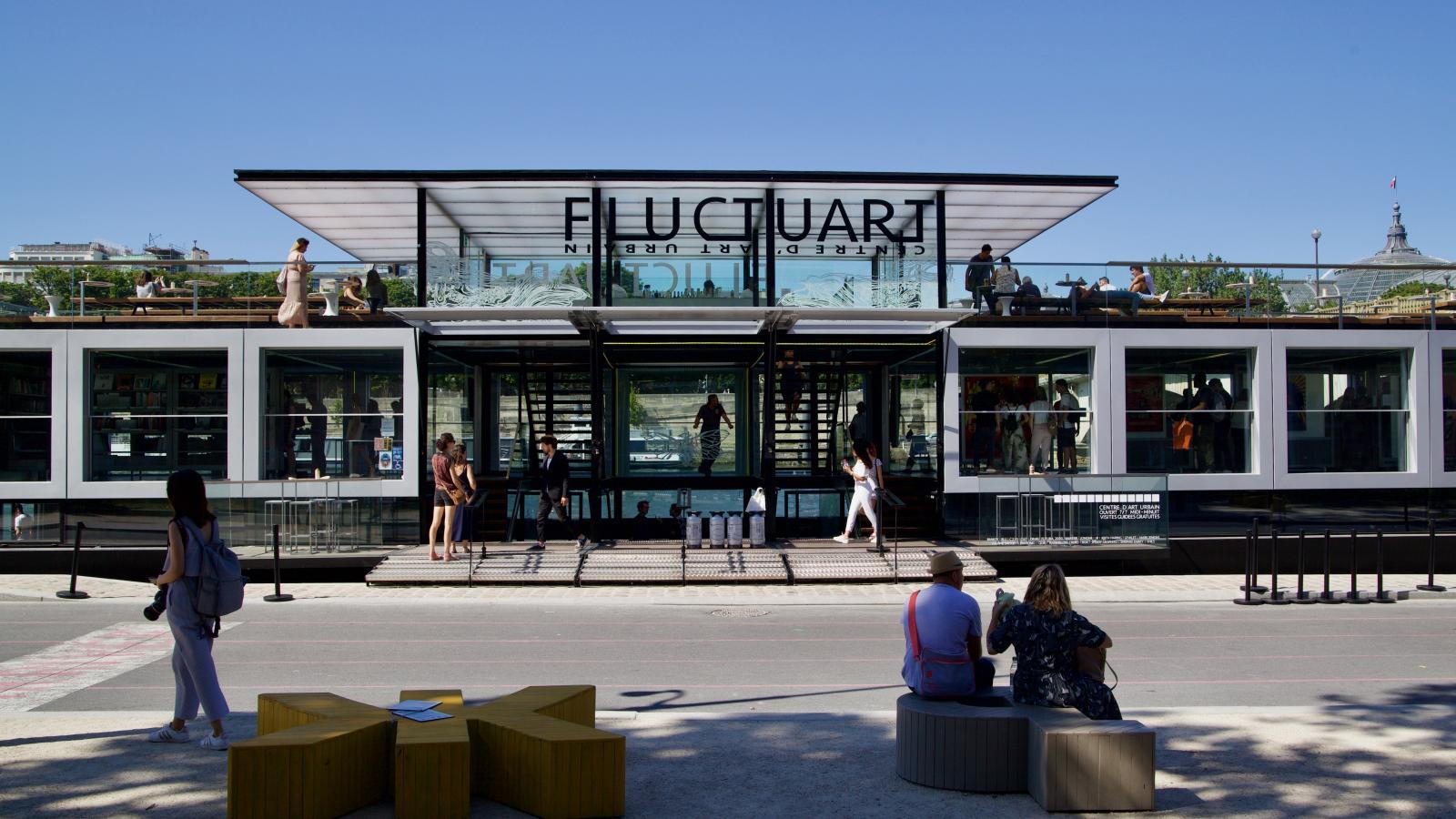 Fluctuart, le nouveau centre parisien dédié à l'art urbain