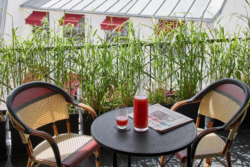 Le Roch Hotel & Spa - Terrasse privative 2