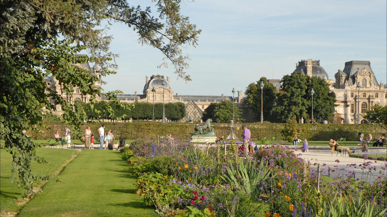 Une journée au Jardin des Tuileries